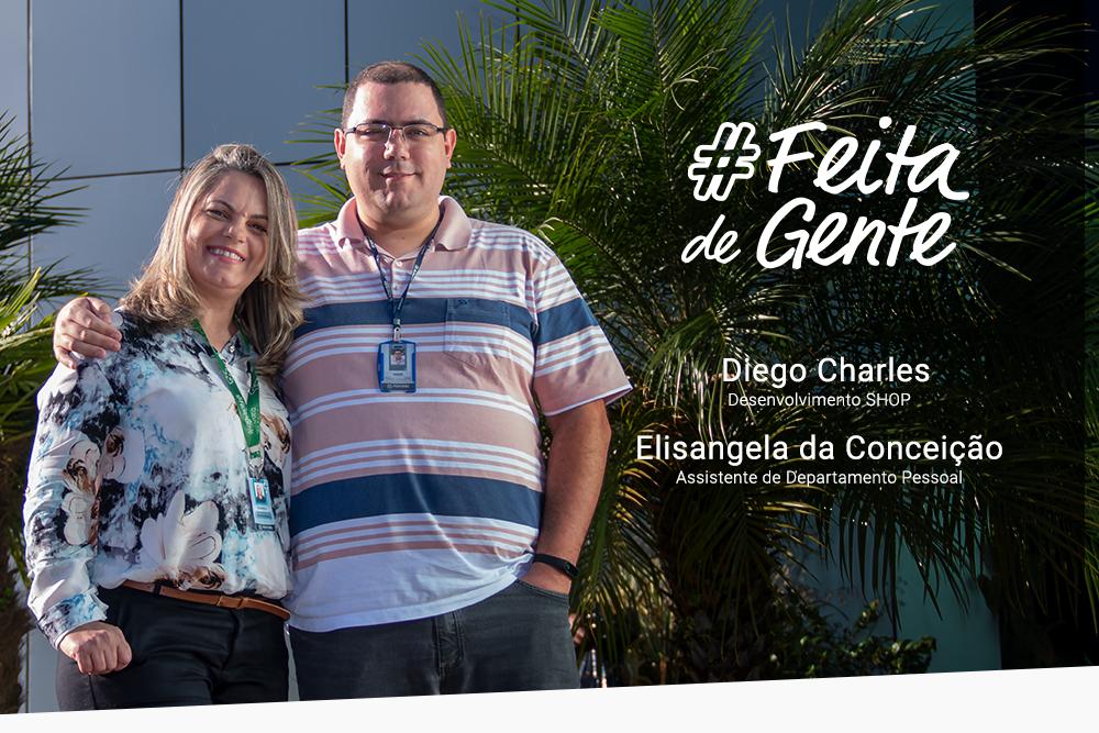 Feita de Gente - Diego e Elisangela
