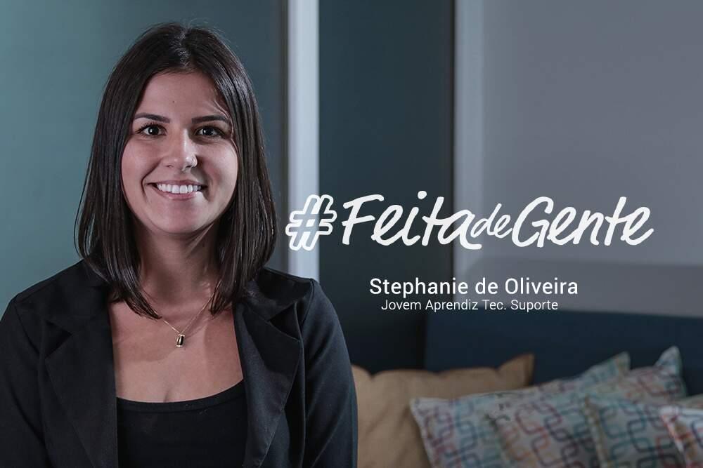 Feita de gente - Stephanie de Oliveira